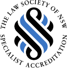Shaddicks Law Firm is has Received Specialist Accreditation from the Law Society of NSW